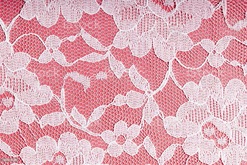 white on pink royalty-free stock photo