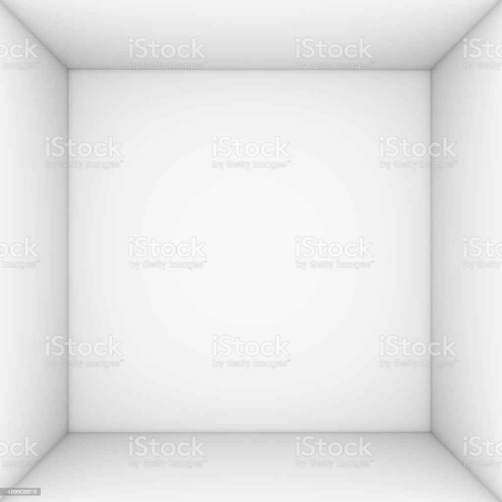 White open box stock photo