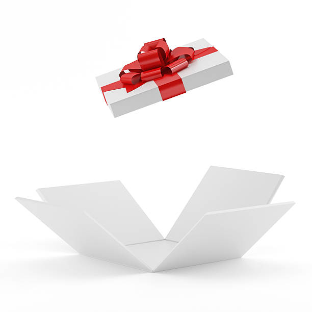 Royalty free open gift box pictures images and stock photos istock white opening gift box stock photo negle Images