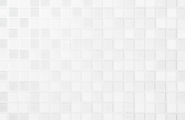 white or gray ceramic wall and floor tiles abstract background. - dziewiczość zdjęcia i obrazy z banku zdjęć