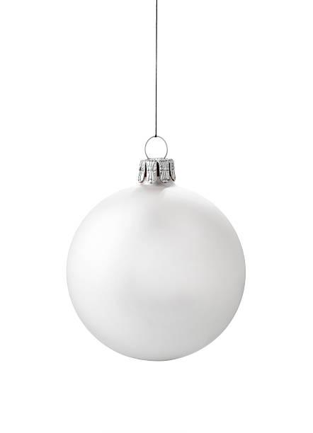 White Ornament stock photo