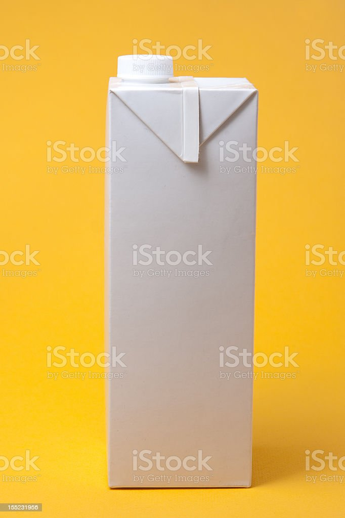 White package model royalty-free stock photo