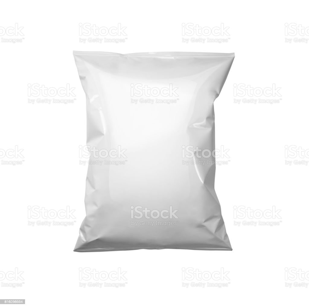 white package template stock photo
