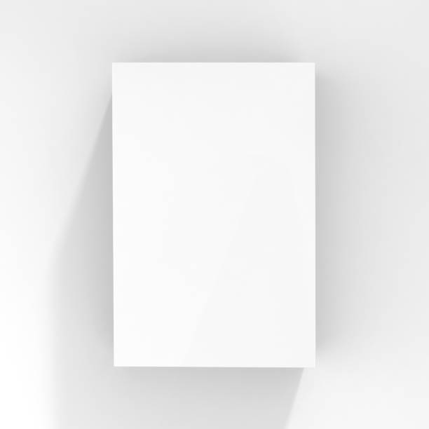 white packaging blank box stock photo
