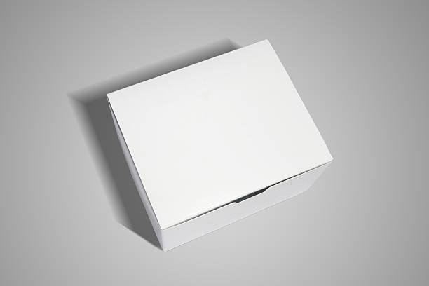 white verpackung - kreativer speicher stock-fotos und bilder