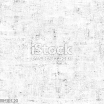 Plane wall surface painted on white color.  Concrete structure full of imperfections. Raw building material with visible dirty uneven brush strokes. Abstract handmade artwork. Original design - zoom to see the details.  SEAMLESS PATTERN - duplicate it vertically and horizontally to get unlimited area.