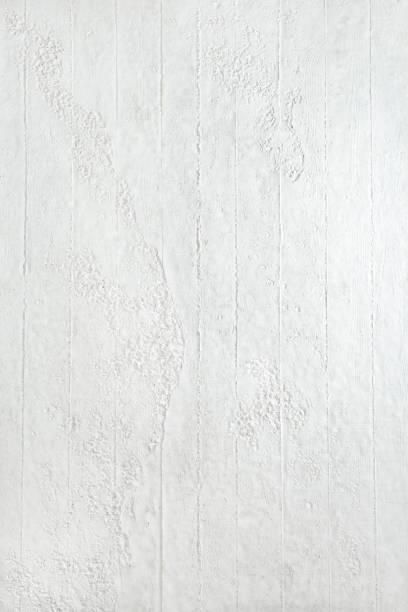 Weiß lackiert mit Streifen Wand Hintergründe – Foto