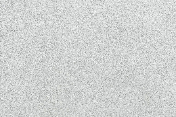 White painted stucco wall. White painted stucco wall. Background texture. whitewashed stock pictures, royalty-free photos & images
