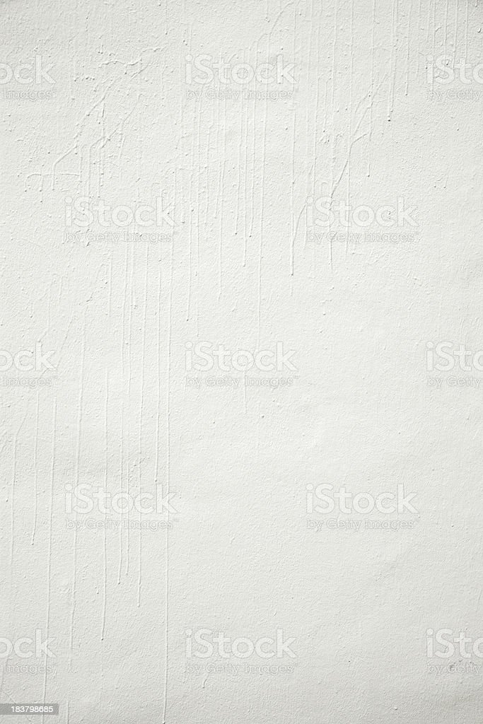 White Painted Wall royalty-free stock photo