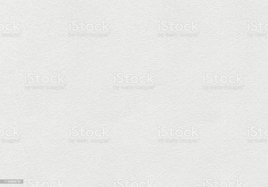 Parede pintada branca com fundo áspero da textura da superfície. - Foto de stock de Branco royalty-free