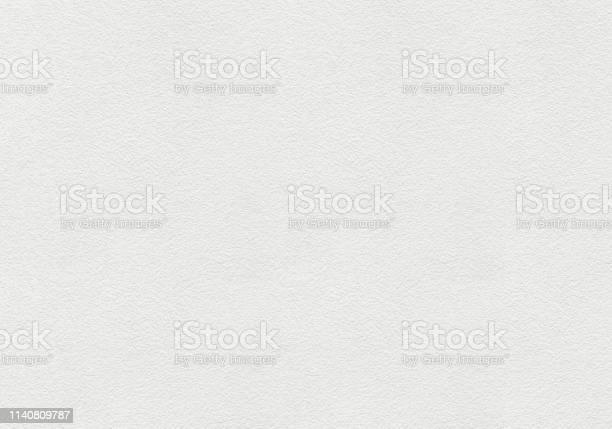 Foto de Parede Pintada Branca Com Fundo Áspero Da Textura Da Superfície e mais fotos de stock de Branco