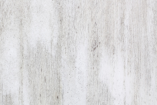 White painted weathered wood wall texture/background.
