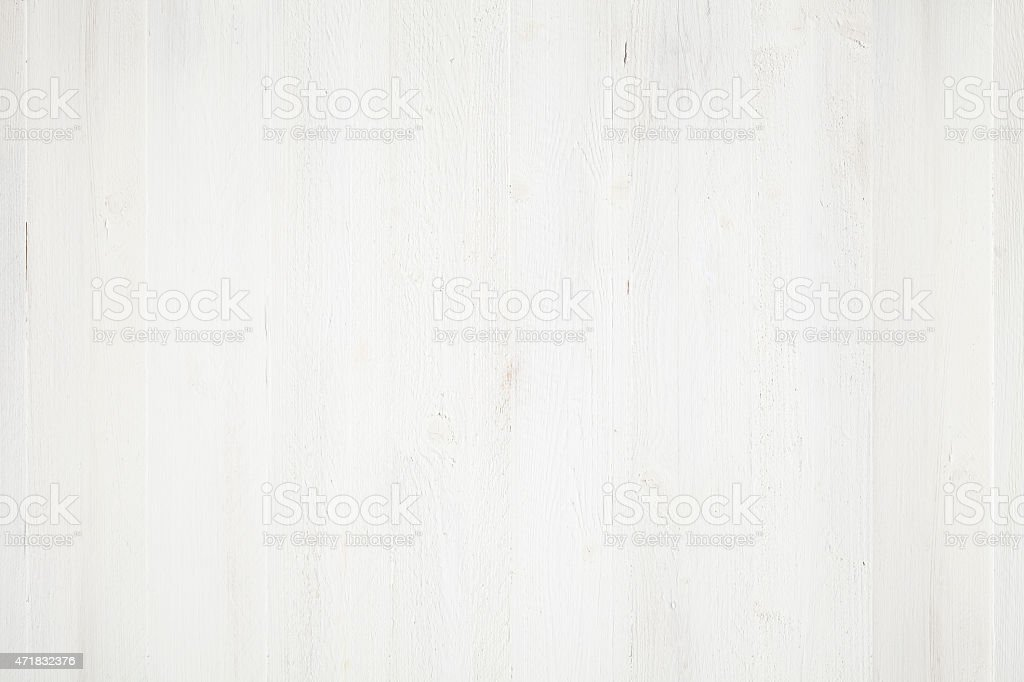 White Painted Wood Background Royalty Free Stock Photo
