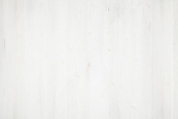 White painted wood background stock photo
