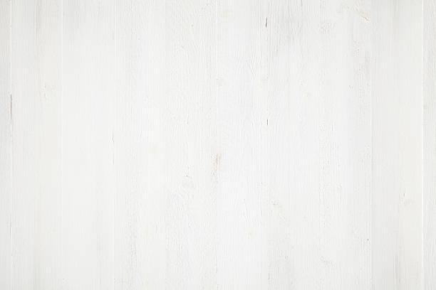 Weiß lackiert Holz Hintergrund – Foto