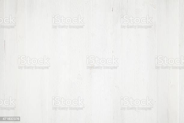 Photo of White painted wood background
