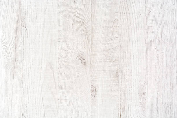 White painted wooden board stock photo