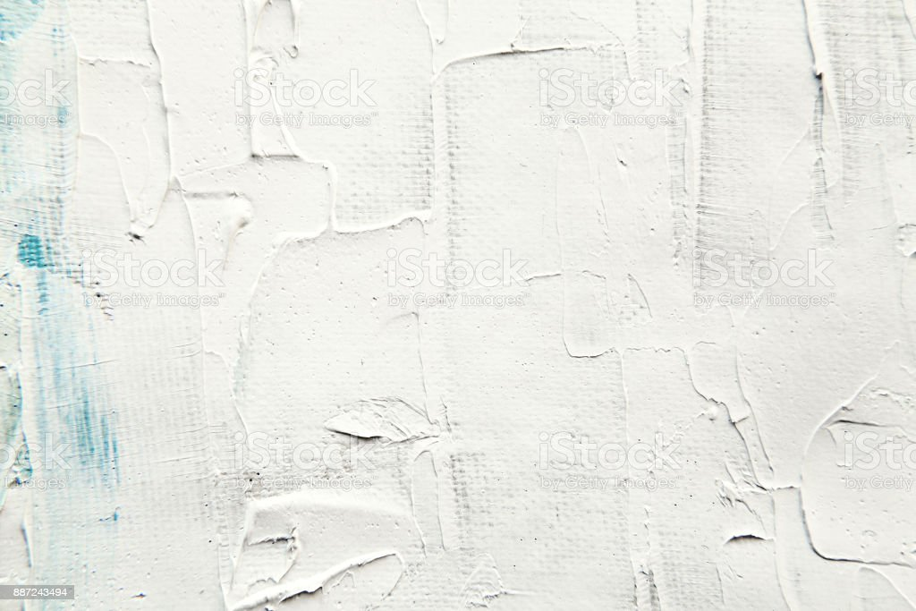 White painting surface close-up texture stock photo