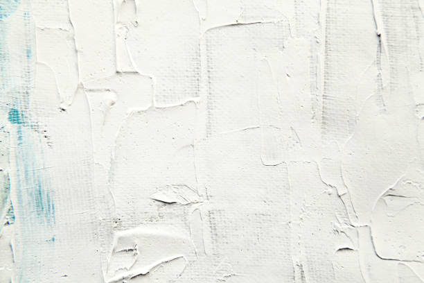 white painting surface close-up texture - paint texture stock pictures, royalty-free photos & images