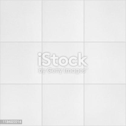 Close up white palimanan stone tile flooring