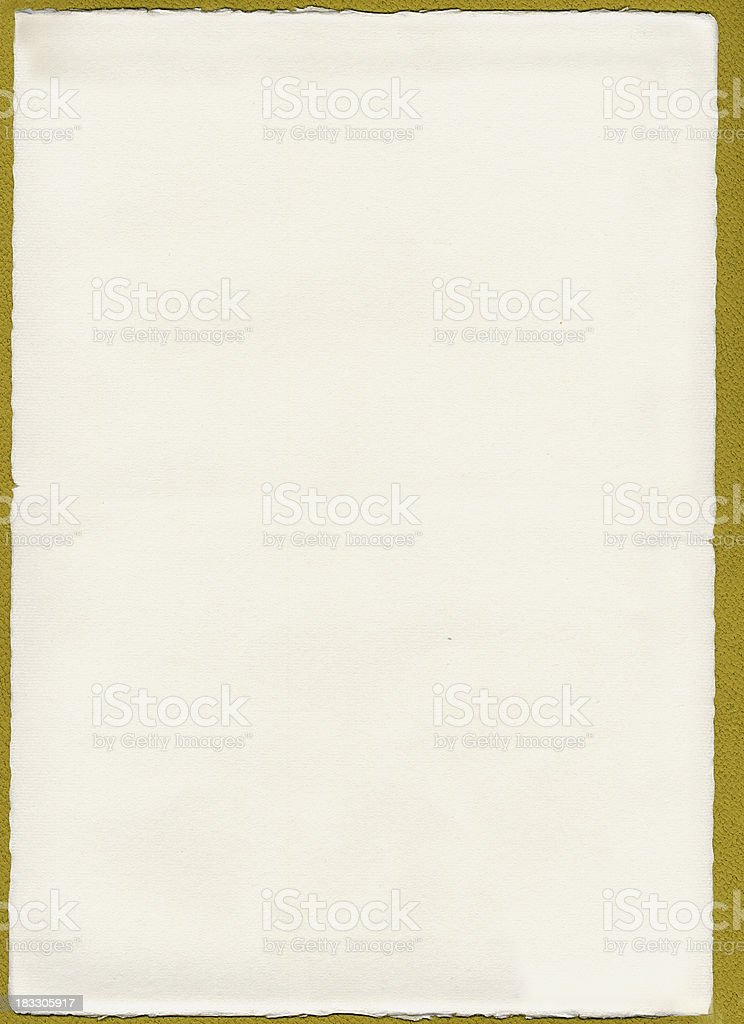 white paper background (old, natural) royalty-free stock photo