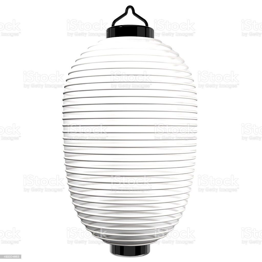 White Paper Lantern stock photo