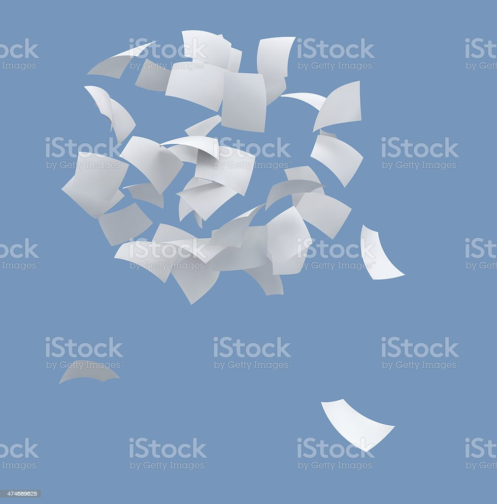 white paper royalty-free stock photo