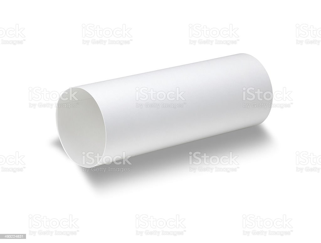 White paper stock photo