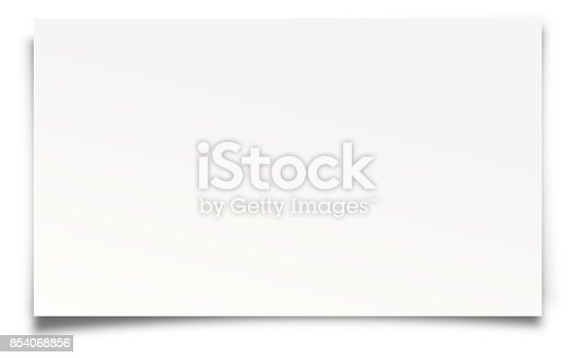 Paper Isolated on White