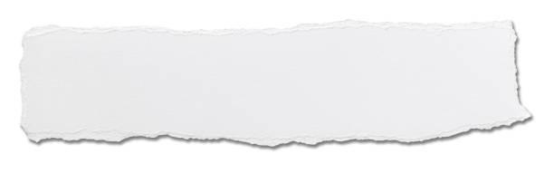 white paper ripped message background - strona zdjęcia i obrazy z banku zdjęć