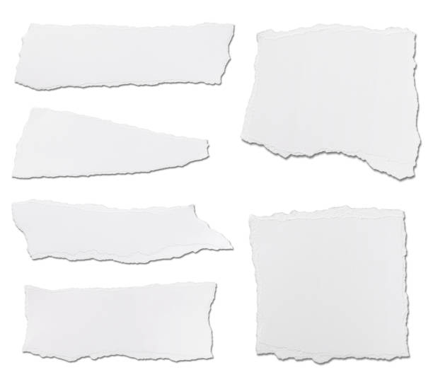 white paper ripped message background - torn stock photos and pictures