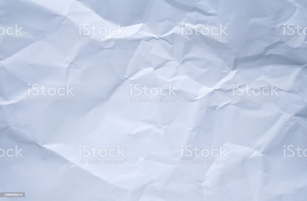 white paper with crease for background. Lizenzfreies stock-foto