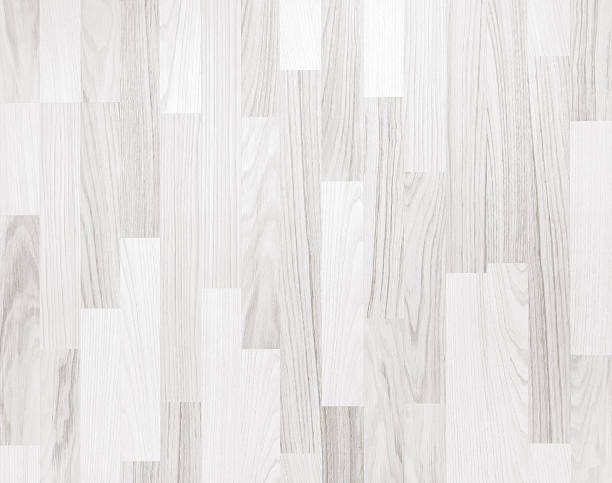 white parquet wooden texture - whitewashed stock photos and pictures