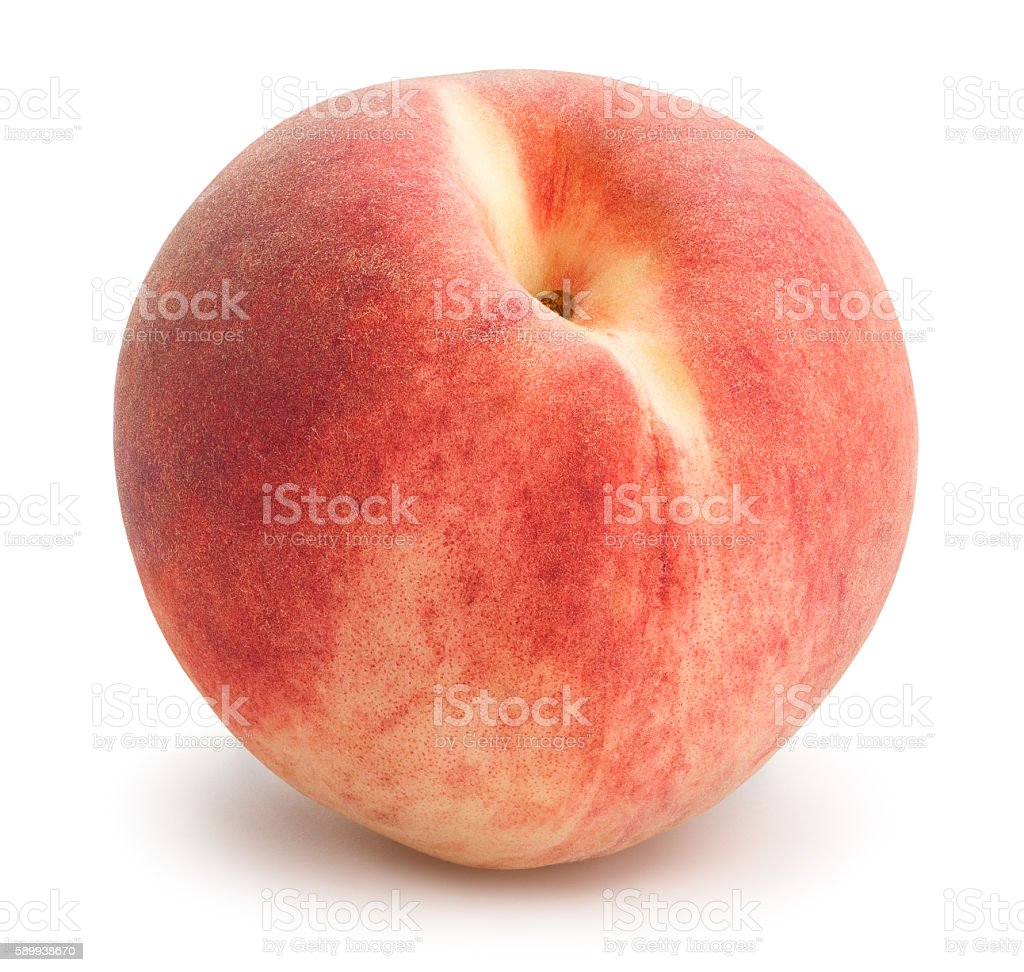 white peach stock photo