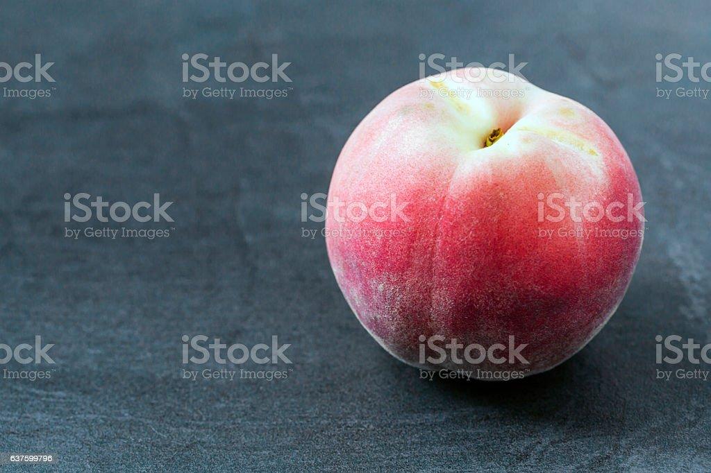 White Peach stock photo