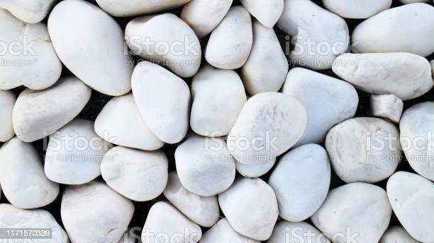Photo of white pebble