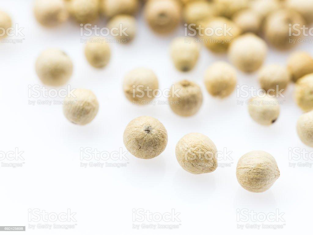 White pepper stock photo