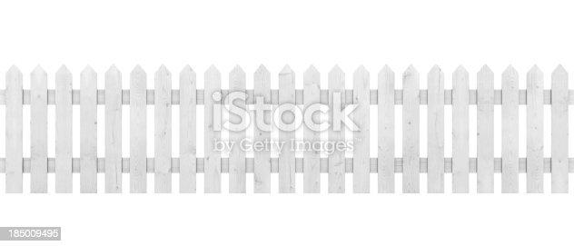 istock White Picket Fence 185009495