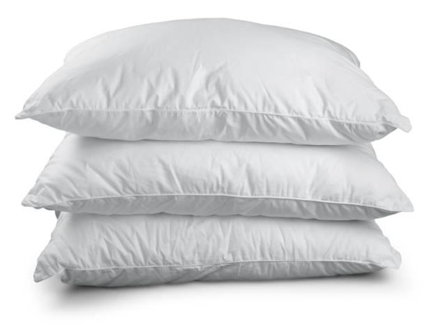 white. - подушка стоковые фото и изображения