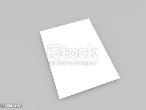 1139340462 istock photo White piece of paper. 1139340462