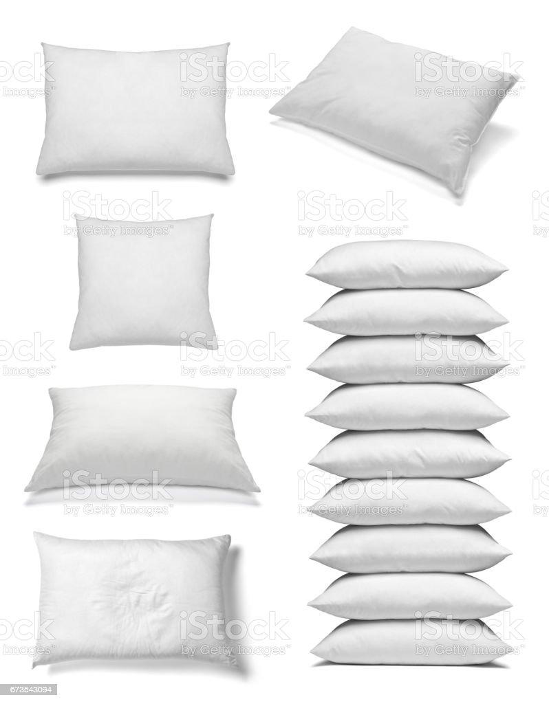 white pillow bedding sleep royalty-free stock photo