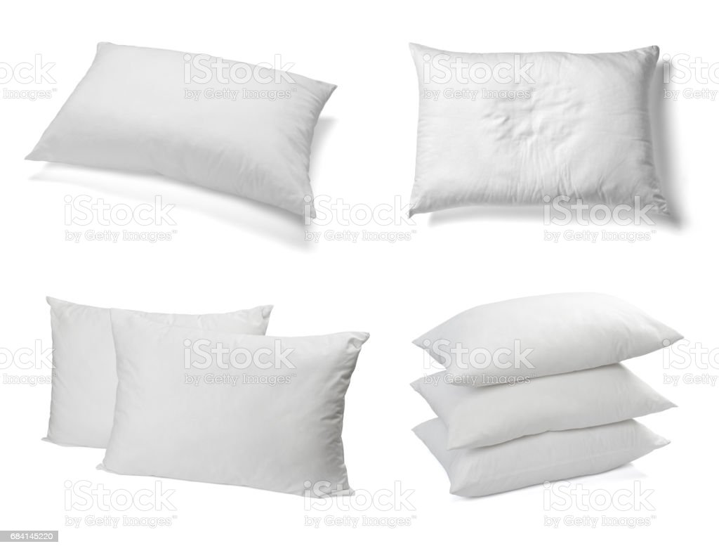 white pillow bedding sleep royalty free stockfoto