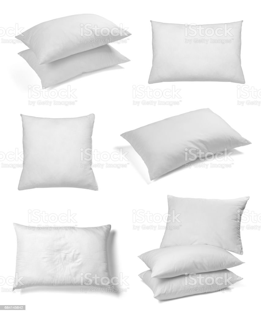 white pillow bedding sleep royaltyfri bildbanksbilder