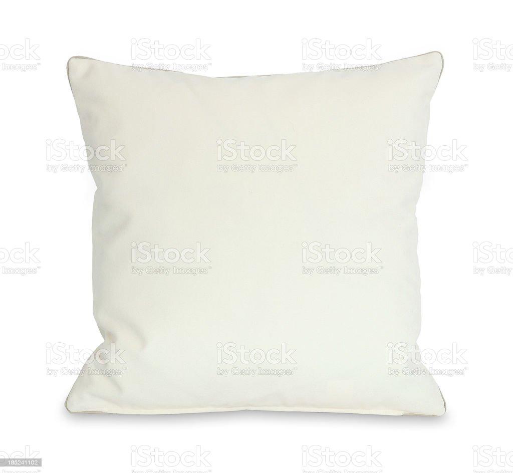 White Pillow (Clipping Path) stock photo