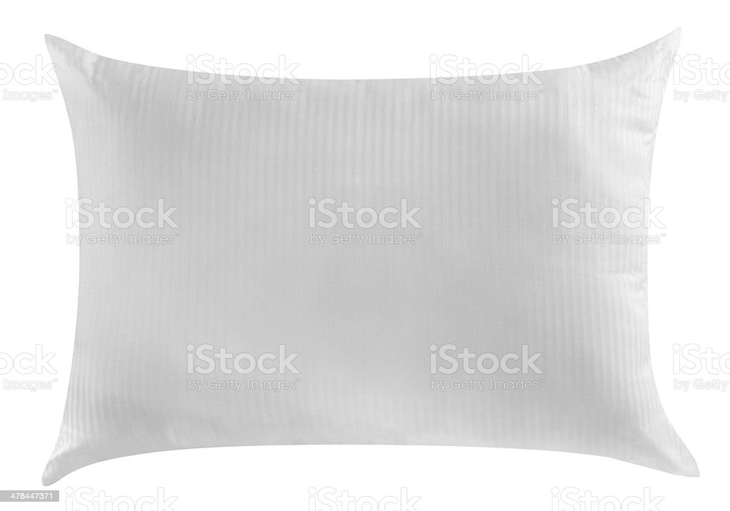 White pillows. royalty-free stock photo