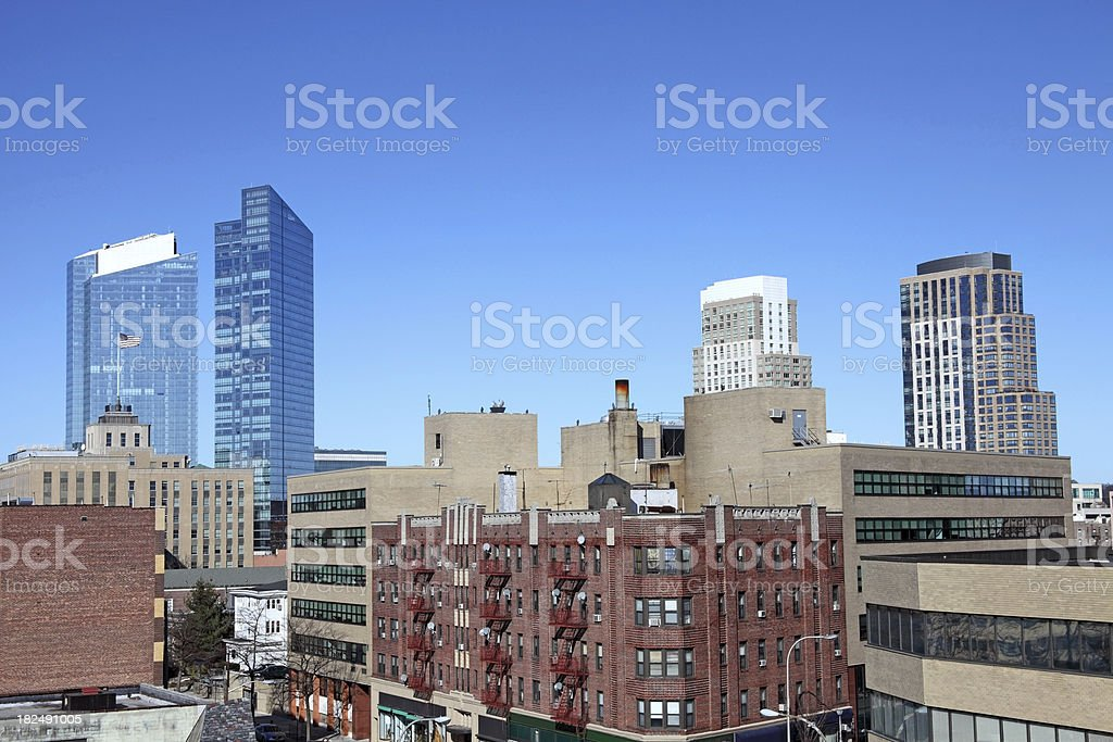 White Plains  New York royalty-free stock photo