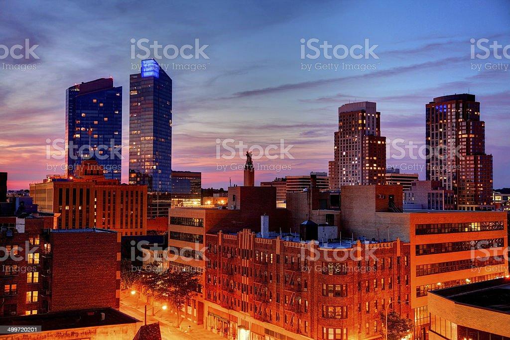 White Plains, New York stock photo