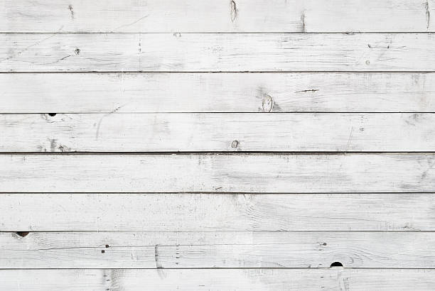 white plank - wood paneling stock photos and pictures