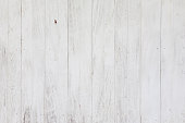 Clean White plank wood for wall and textured background