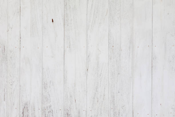 White plank wood wall background Clean White plank wood for wall and textured background barn stock pictures, royalty-free photos & images